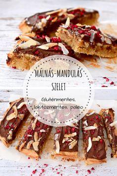 Zseniálisan finom és különleges gluténmentes süti, amely a málnás mandulavaj miatt extrán mandulás-marcipános ízű. 10 perc alatt kész. Izu, Healthy Lifestyle, Paleo, Gluten, Meat, Baking, Recipes, Food, Kuchen