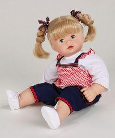 Look what I found on #zulily! Blonde Braids 16.5'' Maxy Muffin Doll by Götz #zulilyfinds