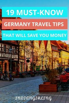 Do you want to save time, money and the infamouse German stare? Read on for 19 Germany travel tips that every first time visitor should know! Europe Travel Guide, Travel Deals, Travel Guides, Travel Destinations, Travel Hacks, Travel Advice, Budget Travel, Europe Packing, Vacation Deals