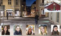 Sweden's town of Östersund rocked by 8 sex attacks in three weeks by migrant men | Daily Mail Online