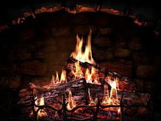 A Fire in the Fireplace