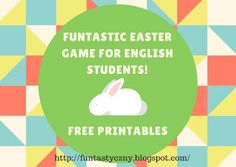 FUNtastyczny Angielski: Easter game for ESL. FREE printables included!