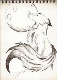 Dibujos a lápiz big g's beardsley mn - Beard Pencil Art Drawings, Cool Art Drawings, Art Drawings Sketches, Easy Drawings, Wolf Drawing Easy, Anime Wolf Drawing, Animal Sketches, Animal Drawings, Boca Anime