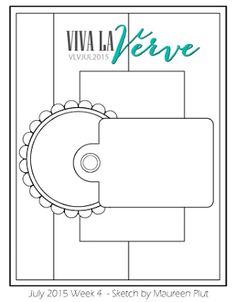 Viva la Verve Sketches: Viva la Verve July 2015 Week 4 Sketch
