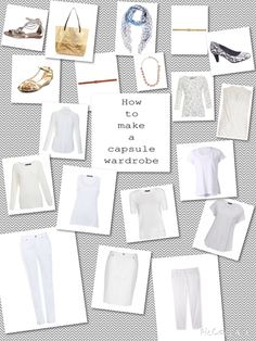 66 Item Challenge: Neutrals are the bedrock of a capsule wardrobe. Metallics in accessories adds interest for those who don't want too much colour even in accessories.