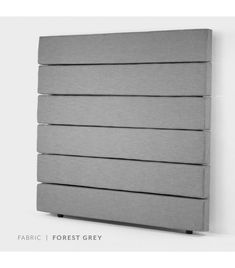 Drew Headboard Double - Forest Grey