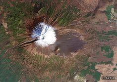 Mt. Fuji, observed by AVNIR-2, 2008/11/22
