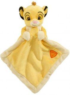 Doudou Simba le roi lion jaune Disney Baby, Nicotoy, Simba Toys (Dickie)