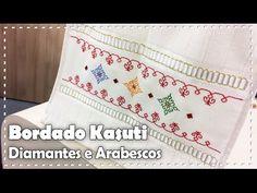 BORDADO KASUTI com Valquíria Campanelli - Programa Arte Brasil - 16/01/2017 - YouTube