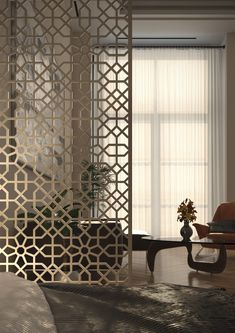 Discover recipes, home ideas, style inspiration and other ideas to try. Living Room Partition Design, Room Partition Designs, Decorative Screen Panels, Sheila E, Window Grill Design, Pooja Room Design, Home Decor Furniture, Plywood Furniture, Modern Furniture