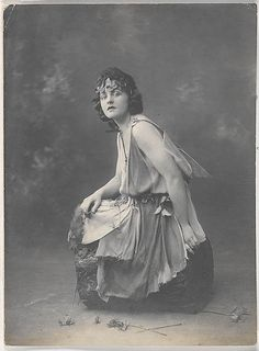 P.L. Travers in the role of Titania from A Midsummer Night's Dream, c. 1920s / by unknown photographer