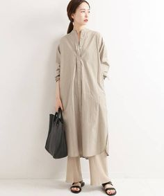 Japan Fashion, Daily Fashion, Japan Style, Kurta Designs, Hijab Outfit, Long Pants, Shirt Dress, Blouse, Hemp
