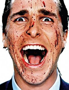 Christian Bale from American Psycho