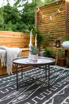 An Outdoor Revamp with At Home : The Final Look   The Fresh Exchange