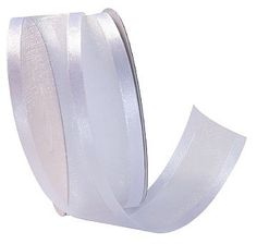 Organza ribbon is great for adding that extra touch for all of your packaging needs. With a soft satin edge, this ribbon is available in a range of colours.