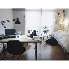 HASAMI PORCELAIN/エアプランツ/賃貸/無印良品/IKEA…などのインテリア実例 - 2014-11-26 08:30:13 | RoomClip(ルームクリップ)