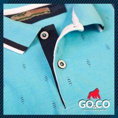 Tus #PolosGoco tienen los detalles y colores con los que siempre sobresales. ¡Te verás genial con esta #CamisaPolo azul celeste! #ModaMasculina  TIENDAS:  Laureles: Av Jardín, Cra 73 #Circular 1–15  Envigado: Calle 30 sur # 45- 20  Guayabal: Cra 52 #29A111 Centro Mercantil  Bucaramanga: Cra 36 #41-47 local 2  #BeGoCo #Casualwear #Style #MenCollection #menstyleguide #polos #mensfashion #mensclothing #stylegram #fashiongram #algodón #cotton #hechoencolombia Outfit Man, Camisa Polo, Instagram Posts, Mens Tops, Women, Fashion, Man Fashion, Bucaramanga, Tents