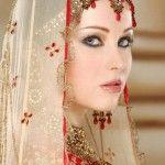 Maquillaje de novia paquistaní