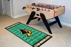 University of Southern Mississippi Football Field Runner