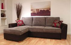 Lincoln Corner Sofa Bed With Storage Buoyant Beds