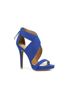 ZARA  CROSSOVER SANDAL    Height of heel: 12,5 cms./ 4,92 inches.  $79.90   Ref. 2360/101