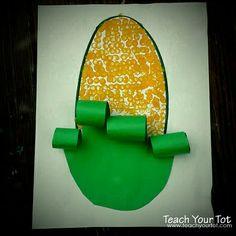 preschool fall crafts | Corn activity... | Preschool-fall, winter craft ideas
