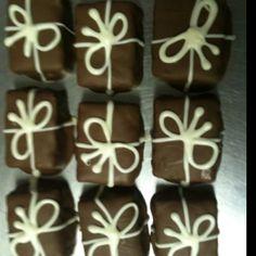 Wrapped Krispy treats