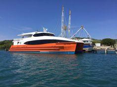 Este viernes inicia operaciones nueva ruta de pasajeros entre Utila y La Ceiba. El ferry Utila Dream ya se encuentra anclado en Utila desde la semana pasada.