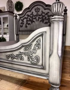 36 best Our Favorite Funky Furniture images Metallic Painted Furniture, Painted Bedroom Furniture, Chalk Paint Furniture, Distressed Furniture, Funky Furniture, Refurbished Furniture, Classic Furniture, Repurposed Furniture, Furniture Makeover