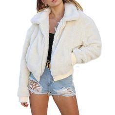Winter Coats Women, Coats For Women, Jackets For Women, Cute Winter Coats, Cute Jackets, Warm Jackets, Fleece Jackets, Cute Coats, Women's Coats