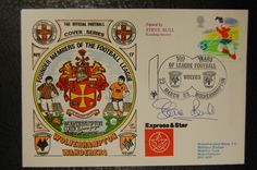 STEVE BULL WOLVES LEAGUE CENTENARY 1988 SIGNED FIRST DAY COVER in Sports Memorabilia, Football Memorabilia, Postal Covers | eBay