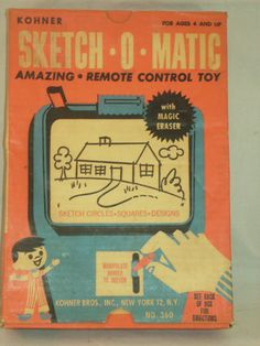 VINTAGE SKETCH-O-MATIC IN THE BOX!