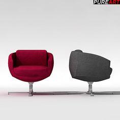 furniture armchair chair 3d max 3d model