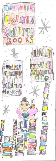 """""""Books Are Magical"""" by Annabelle L. 