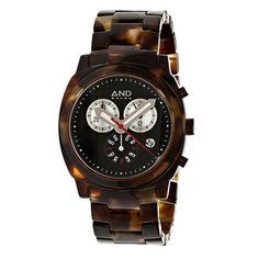 Xenophon Chronograph Tortoise   by And Watch