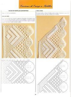 Nice patterns here Filet Crochet, Crochet Lace Edging, Crochet Borders, Bobbin Lacemaking, Bobbin Lace Patterns, Point Lace, Lace Jewelry, Tatting Lace, Lace Doilies