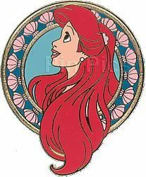 disney little mermaid ariel pin