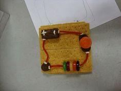 edible electricity circuits