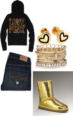 """gold"" by dejat-cheer on Polyvore"