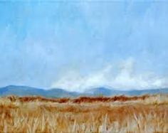 paintings sky fields - Google Search