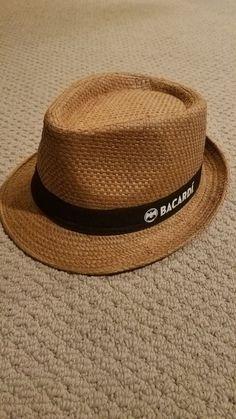 d98fb8588f168 Bacardi Fadora  fashion  clothing  shoes  accessories  mensaccessories  hats  (ebay