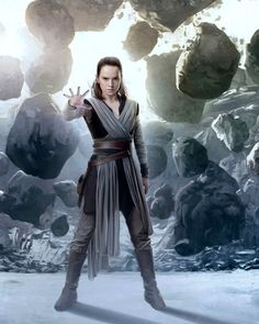 Consumed by Star Wars Feelings — Star Wars: The Last Jedi paintings by Brian Rood