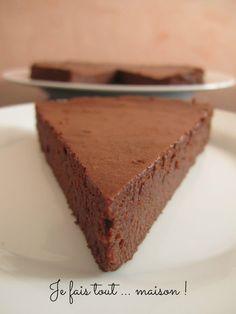 Je fais tout ... maison !: Fondant au chocolat et mascarpone de Cyril Lignac