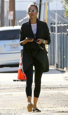 Off-duty: Alessandra Ambrosia was spotted on Tuesday in Los Angeles... https://www.mydoterra.com/grantshort/#/