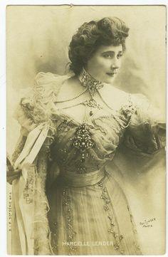 C1902 French Theater Beauty Marcelle Lender Reutlinger Music Hall Photo Postcard | eBay
