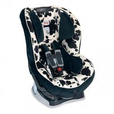 Britax boulevard in cowmooflage. Just bought for N. love it and can't find anything more safe!