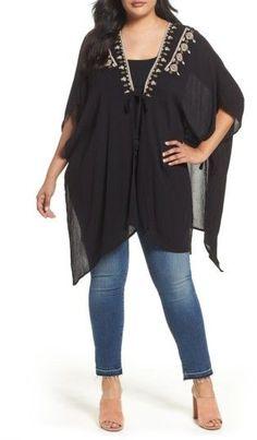 40992a849dae Plus Size Women's Bobeau Embroidered Wrap Plus Size Womens Clothing, Plus  Size Fashion For Women