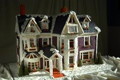 #18 Extraordinary gingerbread houses collected @socialcafemag.com