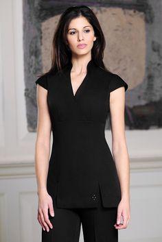 Diamond Designs Nicole Beauty Tunic | Beauty Uniforms Online