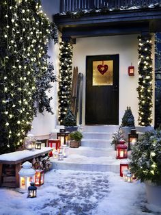 BORRBY and ROTERA lanterns - I hope I get some Ikea gift cards for Christmas or my Birthday *hint, hint! Ikea Christmas, Scandinavian Christmas, Simple Christmas, All Things Christmas, Christmas Lights, Christmas Time, Christmas Trimmings, Merry Christmas, Christmas Greenery